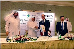 MHPS Renews Its Long-Term Service Agreement for the Ras Laffan C IWPP in Qatar