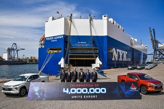 Mitsubishi Motors Passes Milestone of Four Million Vehicles Exported from Thailand