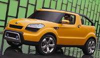 Kia Motors Showcases Soul'ster Concept at 2009 North American International Auto Show